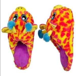 Justice Giraffe Slippers/House Shoes